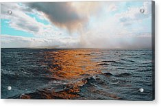 Acrylic Print featuring the photograph Hawaii by Lucian Capellaro