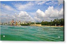 Hawaii Winter Dream Acrylic Print
