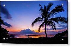 Hawaiian Dawn Colors Acrylic Print