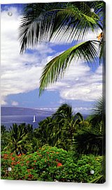 Hawaiian Fantasy Acrylic Print by Marie Hicks