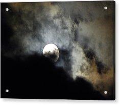 Hawaiian Moon Acrylic Print by Elizabeth Hoskinson