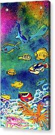 Hawaiian Reef  Fish #223 Acrylic Print by Donald k Hall