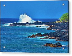 Hawaiian Seascape Acrylic Print