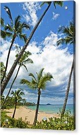 Hawaiian Shore On Maui 14 Acrylic Print by Micah May