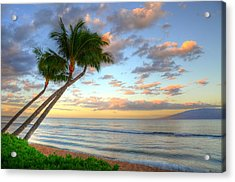 Hawaiian Sunrise Acrylic Print