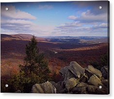 Hawk Mountain Sanctuary Acrylic Print