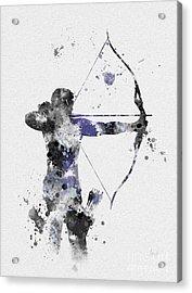 Hawkeye Acrylic Print by Rebecca Jenkins