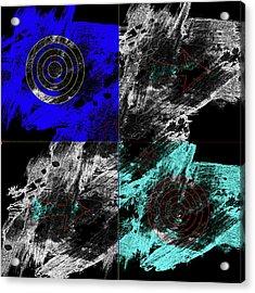 Hawkings Eternal Cosmos Acrylic Print