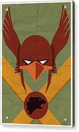 Hawkman Acrylic Print