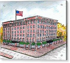 Hawthorne Hotel Acrylic Print