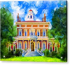 Hay House - Historic Macon Georgia Acrylic Print by Mark Tisdale