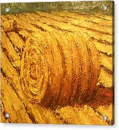 Haybale II Acrylic Print