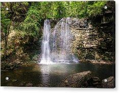 Hayden Run Waterfall Acrylic Print by Tom Mc Nemar