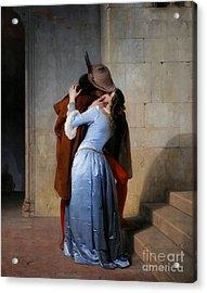 Hayez: The Kiss Acrylic Print by Granger
