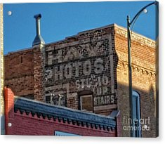 Hay Photo Studio Acrylic Print
