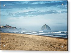 Haystack Rock Pacific City Acrylic Print