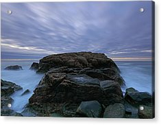 Hazard Rock Acrylic Print by Juergen Roth