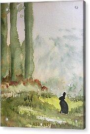 Hazel-rah Acrylic Print
