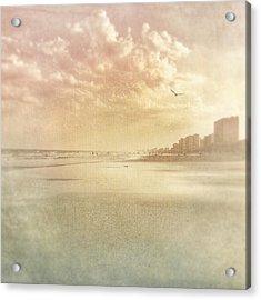 Hazy Day At The Beach Acrylic Print