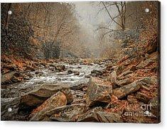 Hazy Mountain Stream #2 Acrylic Print