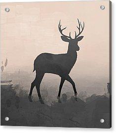 Hazy Stag 1 Acrylic Print