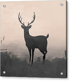Hazy Stag 2 Acrylic Print