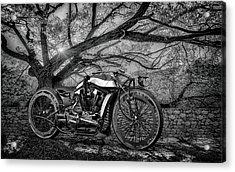 Acrylic Print featuring the photograph Hd Cafe Racer  by Louis Ferreira