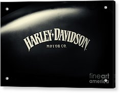 Hd Iron 883 Gas Tank Acrylic Print