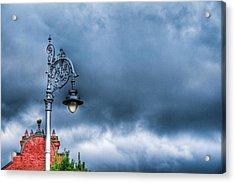 Hdr Street Lamp Acrylic Print