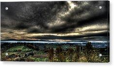 Hdr Tuscany Sunset Acrylic Print