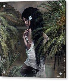 He Aloha Mau Kou 002 Acrylic Print