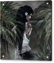 He Aloha Mau Kou  Acrylic Print