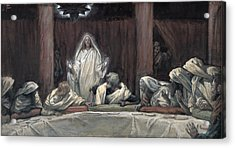 He Appeared To The Eleven Acrylic Print by Tissot