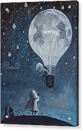 He Gave Me The Brightest Star Acrylic Print by Adrian Borda