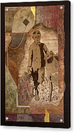 He Knows There Must Be More Acrylic Print by Katherine Weston