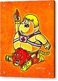 He-man - Da Acrylic Print by Leonardo Digenio