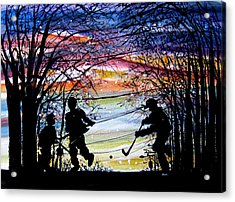 He Shoots And Scores Acrylic Print by NHowell
