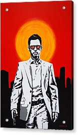 He Used To Be A Spy Acrylic Print by Justin Overholt