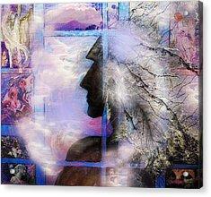 He Waits II Acrylic Print by Patricia Motley