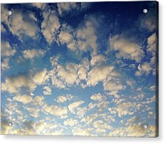 Head In The Clouds- Art By Linda Woods Acrylic Print