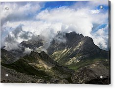 Head In The Clouds Acrylic Print