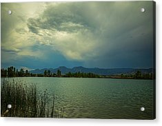 Acrylic Print featuring the photograph Head In The Clouds by James BO Insogna