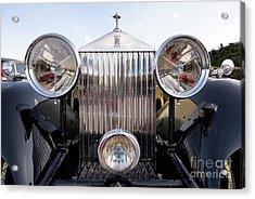 Head Lights Of 1934 Rolls Royce 20/25 Acrylic Print