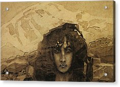 Head Of A Demon Acrylic Print