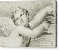 Head Of A Putto  Acrylic Print