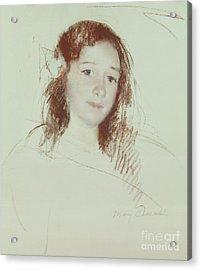 Head Of Adele Acrylic Print