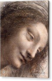 Head Of The Virgin Mary Acrylic Print