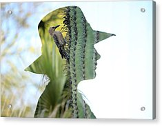 Headache Acrylic Print