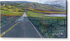 Heading For The Hills Acrylic Print