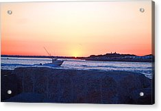 Acrylic Print featuring the photograph Heading Out by  Newwwman
